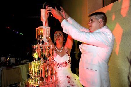 Comment faire une fontaine de champagne soi-m�me ?