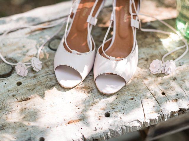 50 chaussures de mariée à bout ouvert, entre confort et raffinement
