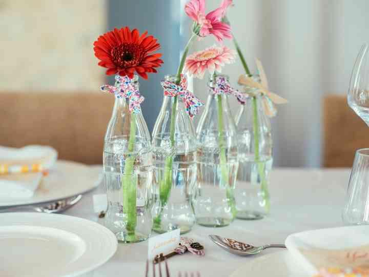 Vases Diy Des Centres De Table Fait Maison Pour Votre Mariage