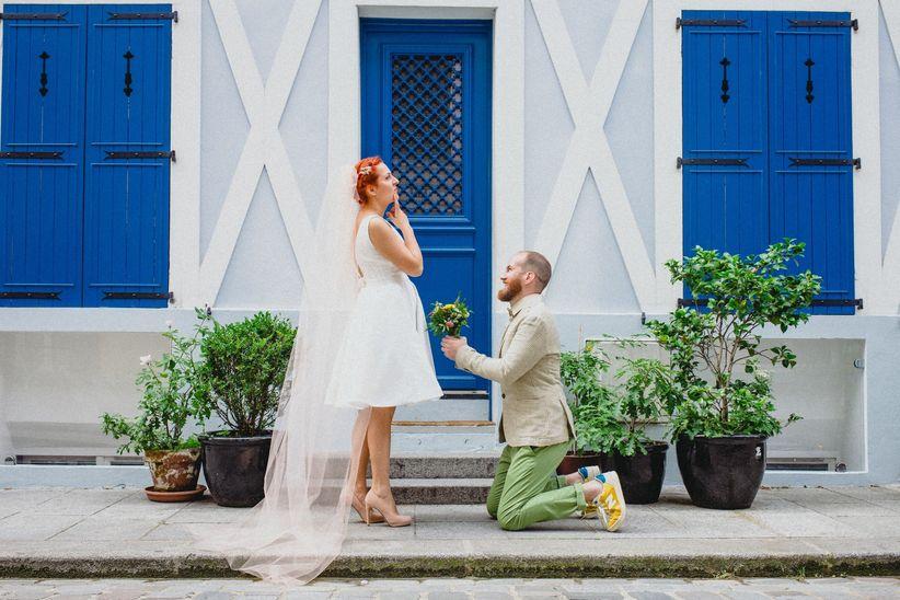 Qui a parlé mariage en premier ? 💍 1