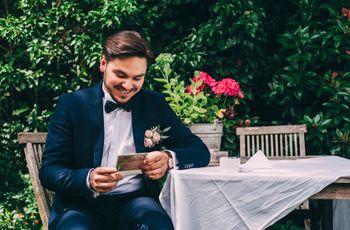 8 phrases amusantes pour vos faire-part de mariage