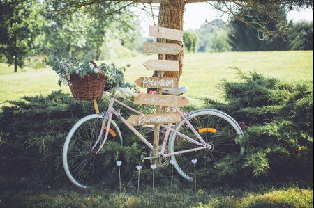 Les vélos : déco incontournable pour votre mariage champêtre