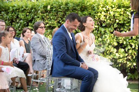 Surprise ! 10 prestations à offrir aux mariés le jour J