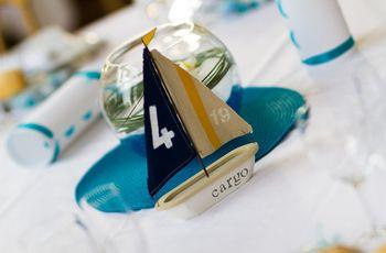 25 idées pour une déco de mariage sur le thème de la mer