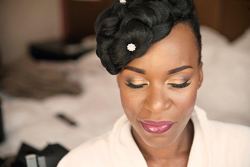 maquillage pour mariage peau noire. Black Bedroom Furniture Sets. Home Design Ideas