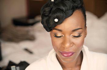 Idées et conseils maquillage de mariée pour peaux noires