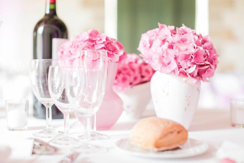 buffet dnatoire ou repas servi table pour le mariage - Buffet Dinatoire Mariage