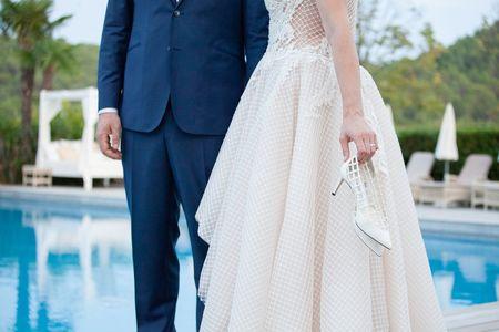 Chaussures de mariée blanches ou de couleur ?
