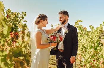 50 superbes photos de séances de couples dans les vignes
