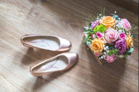 Des chaussures pour chaque style de mari�e