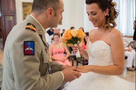 Les traditions du mariage militaire