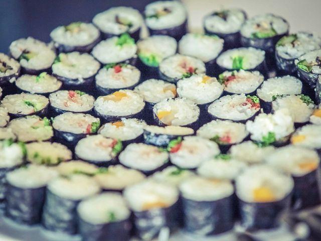 Quand les sushis s'invitent à votre mariage