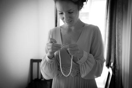 Bijoux de mariée pour un mariage de jour
