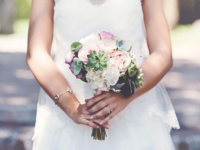 20 bouquets de mariée avec succulentes