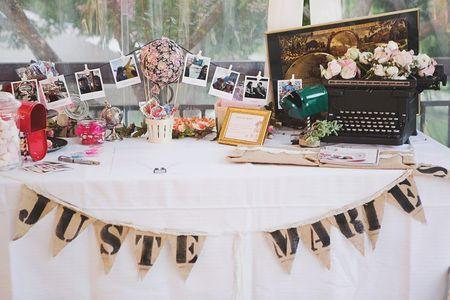 Id�es pour un mariage vintage