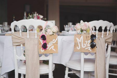 Comment choisir les chaises parfaites pour son mariage