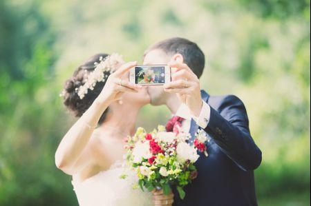 6 idées de selfies le jour de votre mariage