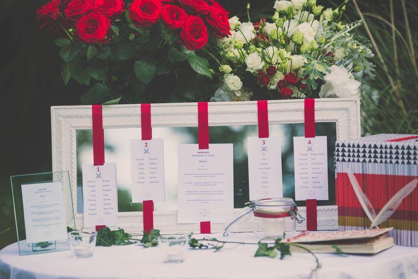 20 Plans De Table Avec Cadres Pour Votre Mariage