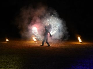 Fire & led show 6