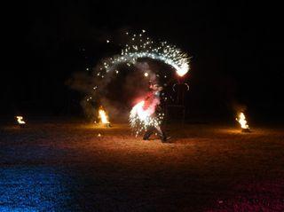 Fire & led show 7
