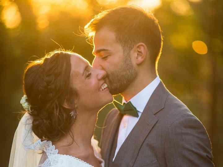 Coiffure de mariage et de maquillage tombes
