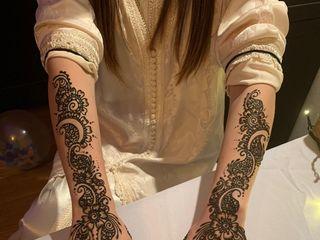 Mon Tatouage au Henné 5