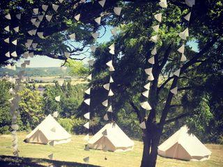 Mon Wedding Camping  - Tipis d'hébergement 5