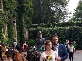 Mariage en Calèche - Nonette-Cuirs 2