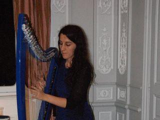 Marion Le Solliec - Celtic et Electric Harp 1