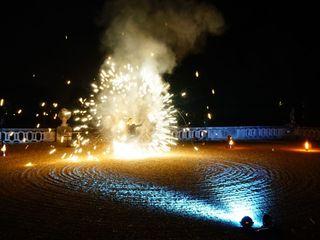 Shay - Spectacle de feu et lumières LED 1