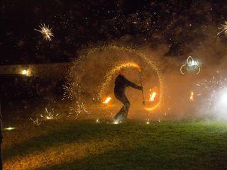 Firelight - Spectacle de feu et de led 1