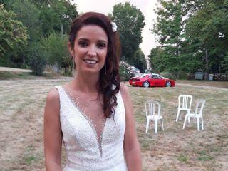 La mariée de Lol & Esté 1