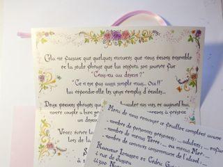 Elsa Millet - Calligraphie Illustration Enluminure 2