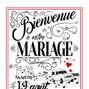 Le mariage de Louise Gonzalez et Le Boolot de Boo - Création Graphique 6