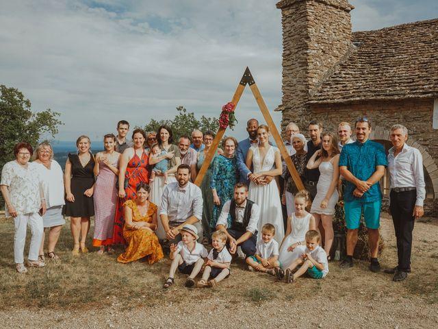 Le mariage de Aguib et Emeline à Bissy-la-Mâconnaise, Saône et Loire 37