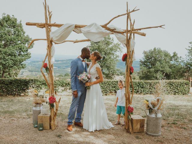 Le mariage de Aguib et Emeline à Bissy-la-Mâconnaise, Saône et Loire 42