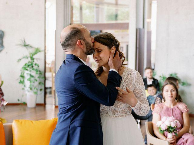 Le mariage de Hamza et Audrey à Caen, Calvados 56
