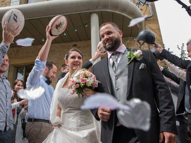 Le mariage de Jack et Gaëlle à Salignac-Eyvigues, Dordogne 1