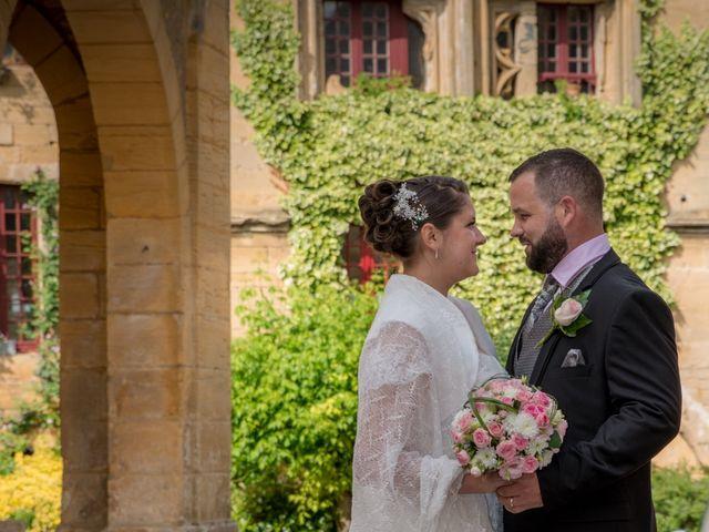 Le mariage de Jack et Gaëlle à Salignac-Eyvigues, Dordogne 3