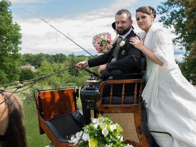 Le mariage de Jack et Gaëlle à Salignac-Eyvigues, Dordogne 8
