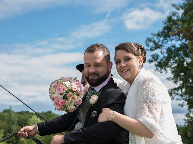 Le mariage de Jack et Gaëlle à Salignac-Eyvigues, Dordogne 9