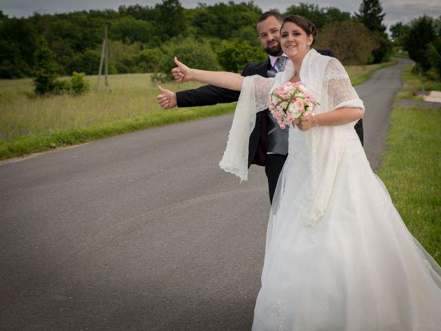 Le mariage de Jack et Gaëlle à Salignac-Eyvigues, Dordogne 10