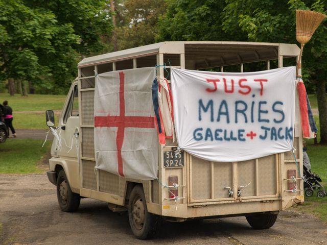 Le mariage de Jack et Gaëlle à Salignac-Eyvigues, Dordogne 11