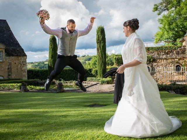 Le mariage de Jack et Gaëlle à Salignac-Eyvigues, Dordogne 16