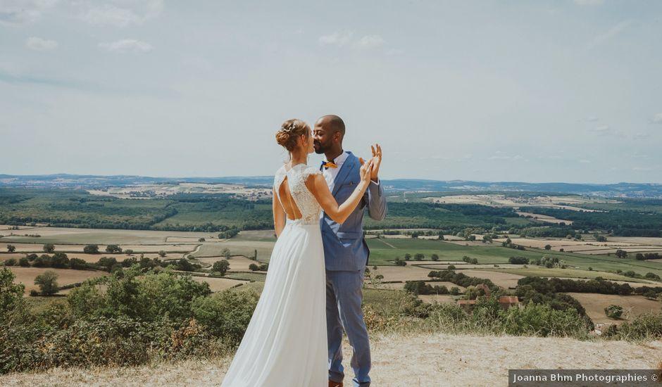 Le mariage de Aguib et Emeline à Bissy-la-Mâconnaise, Saône et Loire