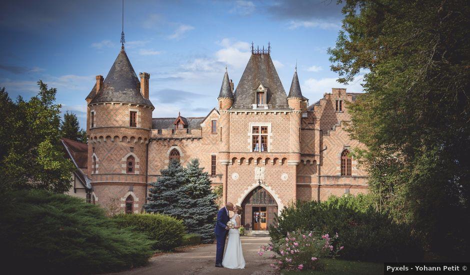 Le mariage de Mehdi et Élise à Saint-Priest-Bramefant, Puy-de-Dôme