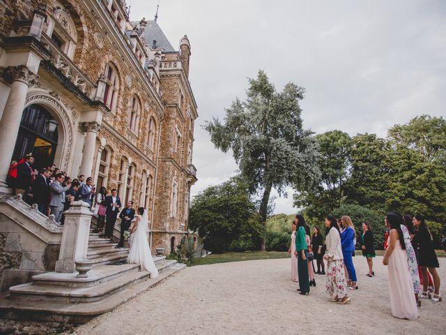 Le mariage de Romain et Leatitia à Chevreuse, Yvelines 46