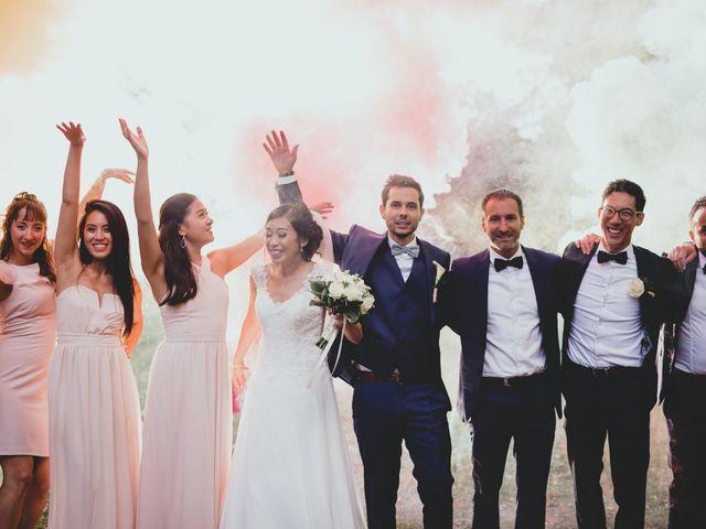Le mariage de Romain et Leatitia à Chevreuse, Yvelines 57