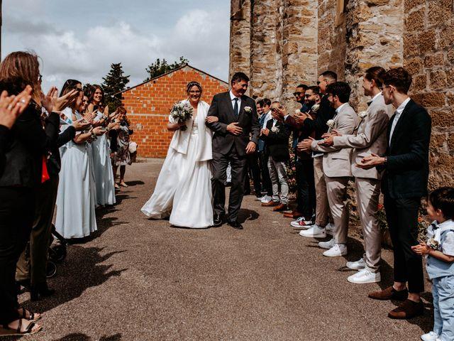 Le mariage de Julien et Marine à Mirepoix, Ariège 35