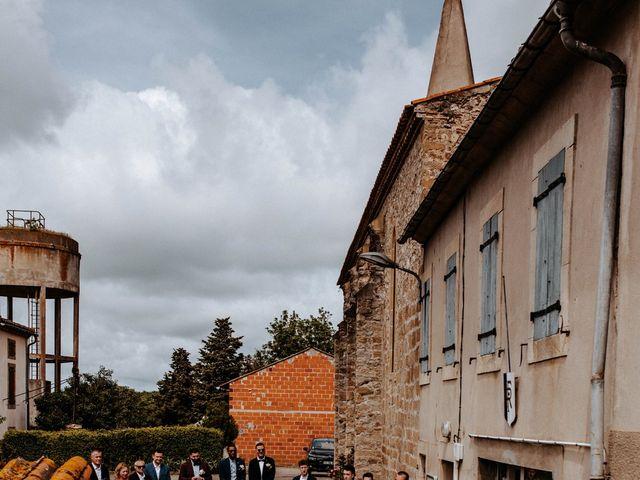 Le mariage de Julien et Marine à Mirepoix, Ariège 40